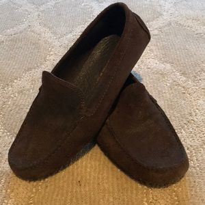 Donald Pliner distressed loafer